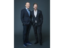TV3s EM-kommentatorer desember 2018: Geir Oustorp og Daniel Høglund