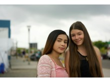 Arantza och Ana från Venezuela