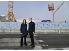 """Iris och Mattias Alexandrov Klum framför """"Himmel, Land & Hav"""""""