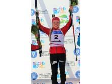 Karoline Erdal, sprint ungdom kvinner, junior-vm 2016
