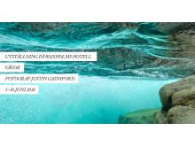 """Utställning """"Vågor"""" med Justin Gainsford på Waxholms Hotell 1–30 juni 2018"""