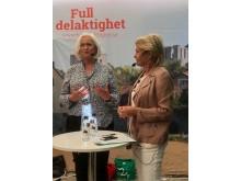Acko Ankarberg och Eva Hamilton
