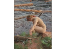 "ANDERS ZORN, ""TIMRET GÅR"" (TIMBER). FINAL PRICE: 7 350 000 SEK"
