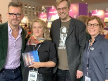 Bart Moeyaert, Kitty Crowther, Mats Kempe and Suzi Ersahin.