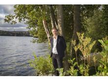 Georg Andrén är ny generalsekreterare för biståndsorganisationen Diakonia.