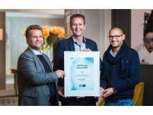 IKEA vant i dag LOS Energy Award for sitt arbeid med energisparing hvor de har gjennomført prosjekter som har spart dem for store energiutgifter.