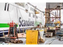 Scandlines to nye skibe under ombygning
