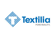 Textilia logotyp liggande