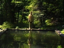 Bill Viola, The Reflecting Pool, 1977-79. Videotape, color, mono sound; 7 minutes. Photo: Kira Perov