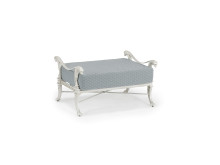 Luxor Ottoman Finished In Platinium Gold With Casamance Fabric (3832 06 75)