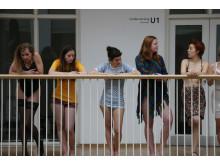 Modellerne hænger ud på Nationalmuseet