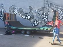 Skateboardrampen!