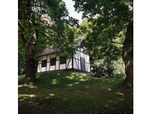 Det idylliske Schweizerhus i Sorgenfri Slotshave