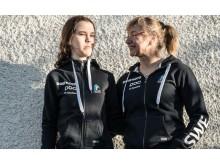 Louise Jannering och Anna Svärdström, Tandem Paracykel