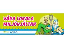 NSVA och Landskrona Energi är Landskronas egna supermiljöhjältar