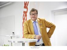 Michael Ekdahl, förbundsordförande i Sensus