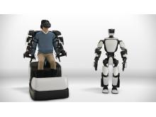 Ny Toyota-robot speglar kroppsrörelser