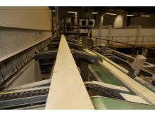Produktion av vindskiva I Karbenning