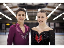 Illya Solomin och Matilda Algotsson