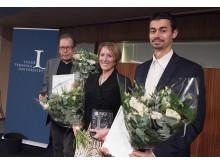 Stig Kerttu, näringslivschef  i Övertorneå kommun, Victoria Van Vamp, chef för affärs- och produktutveckling inom SKF och Daniel Nilsson, civilingenjör rymdteknik