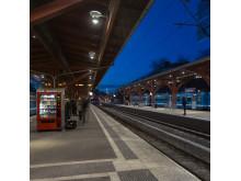 Belysning på Östra Station bild 6