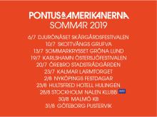 Pontus & Amerikanerna - Sommar 2019