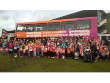 Metro Radio bus_Childrens Cancer Run