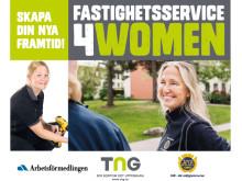 Fastighetsservice4women - ett initiativ för att öka kvinnliga fastighetsskötare