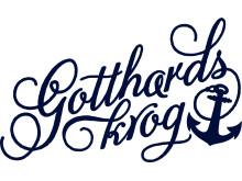Gotthards krog logotype blue