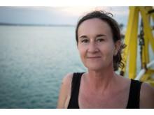 Barnmorskan Astrid Börjesson ombord på Läkare Utan Gränserse räddningsfartyg Dignity.