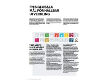 Stadiums arbete i linje med FN:s globala mål