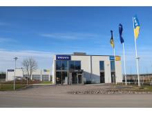 Swecons huvudkontor och utrustningsverkstad för Volvo Construction Equipment i Eskilstuna