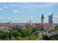 Skyline von Leipzig