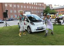 Astrid Lindgrens Barnsjukhus kör elbil