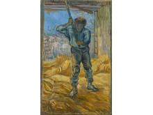 De dorser (naar Millet) - Vincent van Gogh (1853 - 1890), Saint-Rémy-de-Provence, september 1889, Van Gogh Museum, Amsterdam (Vincent van Gogh Stichting)