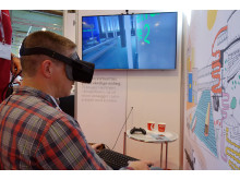Krüger bruger 3D briller på Vandtek