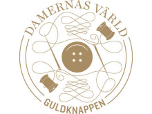 Damernas Värld Guldknappen, logotyp
