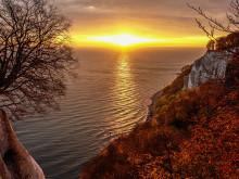 Sonnenaufgang an den Rügener Kreidefelsen