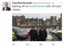 Tweet by Caroline Russell