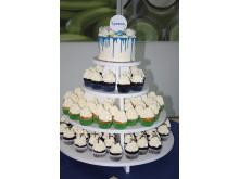 Jubiläumstorte & Cupcakes