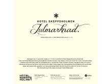 Hotel Skeppsholmens Julmarknad