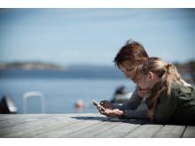 Ferie og mobil