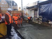 Elstree station extension - 2 Feb New base
