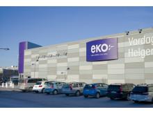 EKO-butiken i Kalmar och dess nya fasad