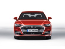 Audi A8 (Volcano Red)