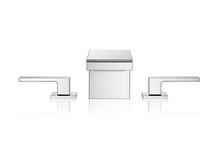 AXOR MyEdition 3-huls håndvaskarmatur i krom/spejlglas