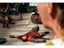 """""""Død"""" kriger til vikingemarked på Nationalmuseet"""
