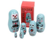 Små babushkadockor - Robotar