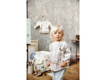 Elodie Details SS19 - Longsleeved Baby Bib - Unicorn Rain