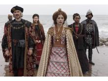 The Spanish Princess - Charlotte Hope i rollen som Katharina af Aragonien.